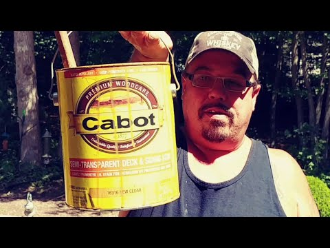 Cabot Premium Semi-Transparent Deck And Siding Stain REVIEW
