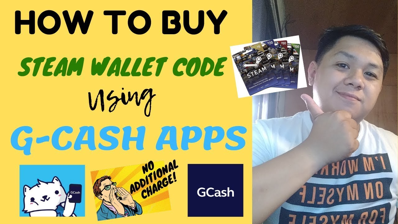 STEAM WALLET CODE USING GCASH APPS