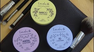 ☙ TEST pudrów sypkich LOVELY ☙ Sweet Kissing Powder ☙ MINERAL, HD, BAMBOO ☙