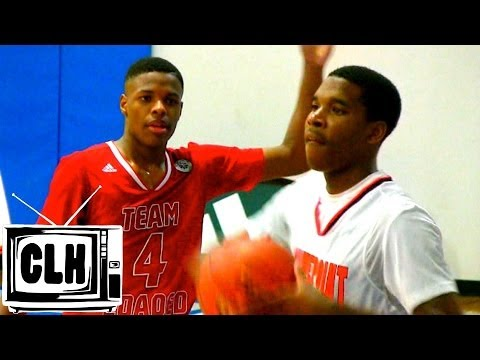 Justin Simon vs Dennis Smith Jr - Gamepoint vs Team Loaded - Adidas Gauntlet 2014
