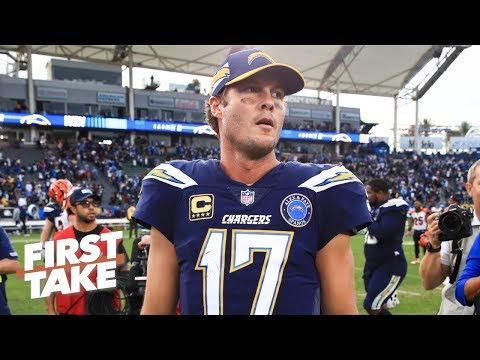 Philip Rivers set up for success in AFC Wild Card game vs. Ravens - Damien Woody | First Take