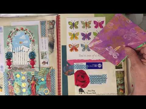 New Altered Book Journals!  Quick flip thru to see new pages