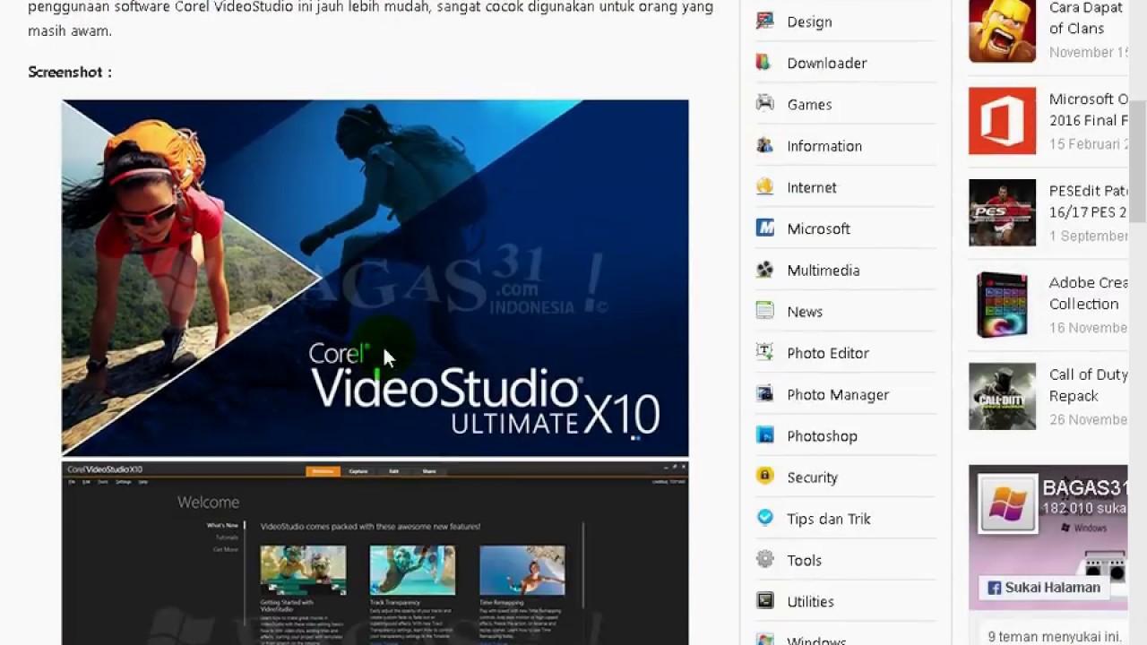 download keygen corel videostudio x10