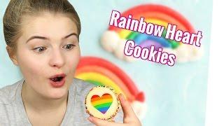 Einhorn Regenbogen Cookies zum Muttertag ♥ | DIY