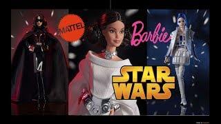 Нові БАРБІ Зоряні війни? Barbie Star Wars? Принцеса Лея Дарт Вейдер R2-D2 НОВИНКИ