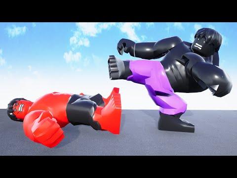 Black Hulk Vs Red Hulk Epic BATTLE