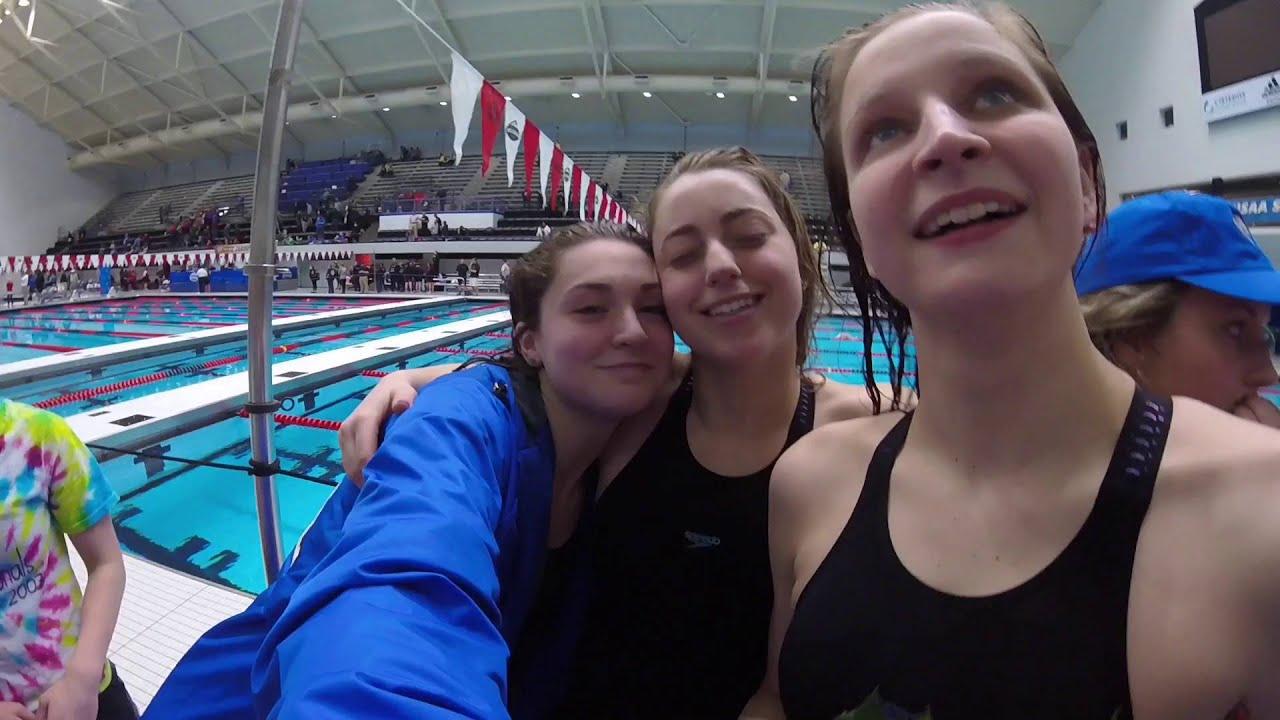 Carroll High School Girls State Swim Team 2016 - YouTube