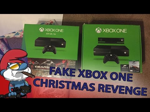 Christmas Revenge: Surprising Dad with a Fake Xbox