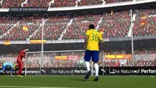 Spain vs Brazil - FIFA14 RTWC EP04 - Confederations Cup