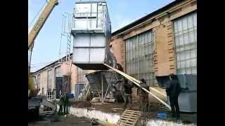 Завод сельхозтехника Дунаевцы,монтаж оборудования(Установка блока аспирации, Дунаевци., 2015-03-20T20:49:06.000Z)