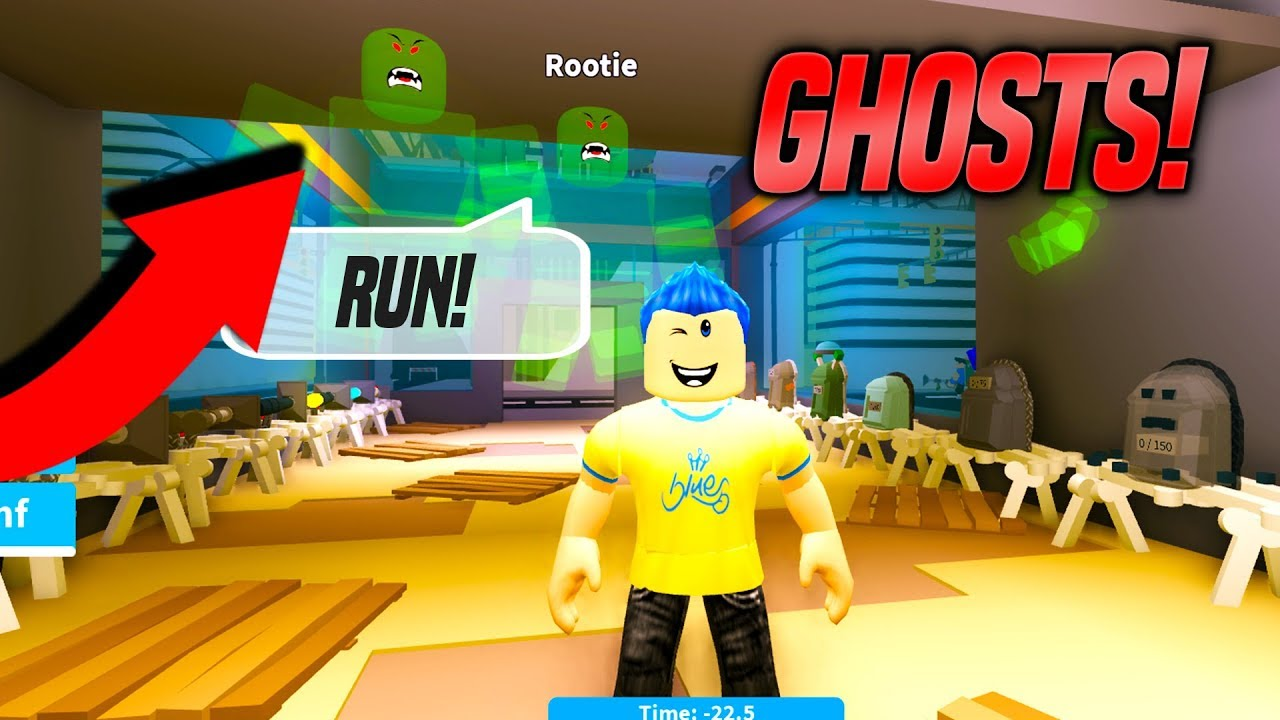 Ghost Hunting Simulator Custom Code Roblox Youtube