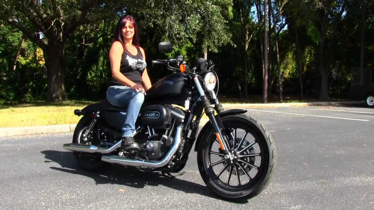 2012 Harley-Davidson Iron 883 for sale used motorcycles - YouTube