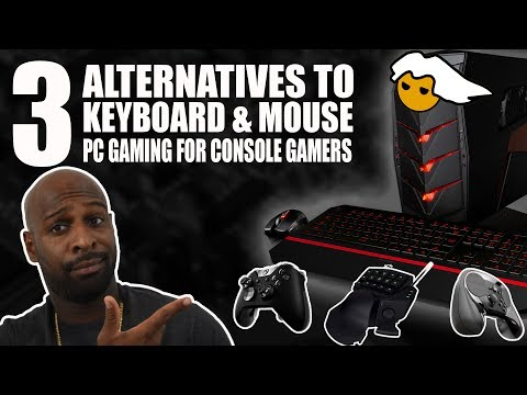 3 Alternatives To Keyboard and Mouse PC Gaming for Console Gamers