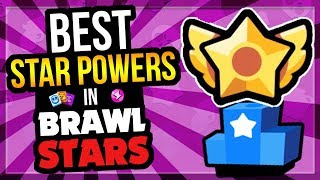Best u0026 Worst Star Powers in Brawl Stars! Star Power Tier List [Brawl Stars]
