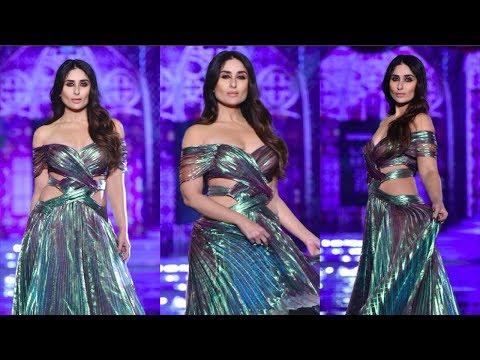 Kareena Kapoor Sets The Ramp On Fire At Lakme Fashion Week 2018