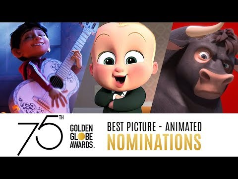 75th Golden Globe Awards Nominees  Best Picture Animated  Compilation