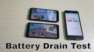 Xiaomi Redmi 6A vs Yu Ace Battery Drain Test