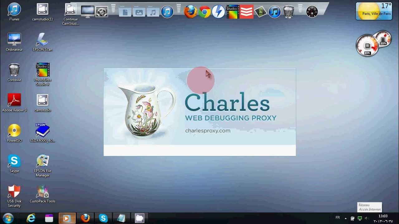 3.6.3 TÉLÉCHARGER CHARLES PROXY