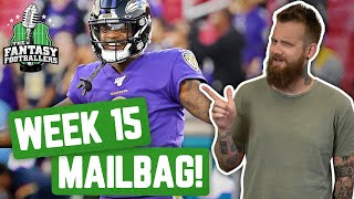 Fantasy Football 2019 - Week 15 Buy or Sell + Semi-Finals Mailbag, Lizard Rules - Ep. #835