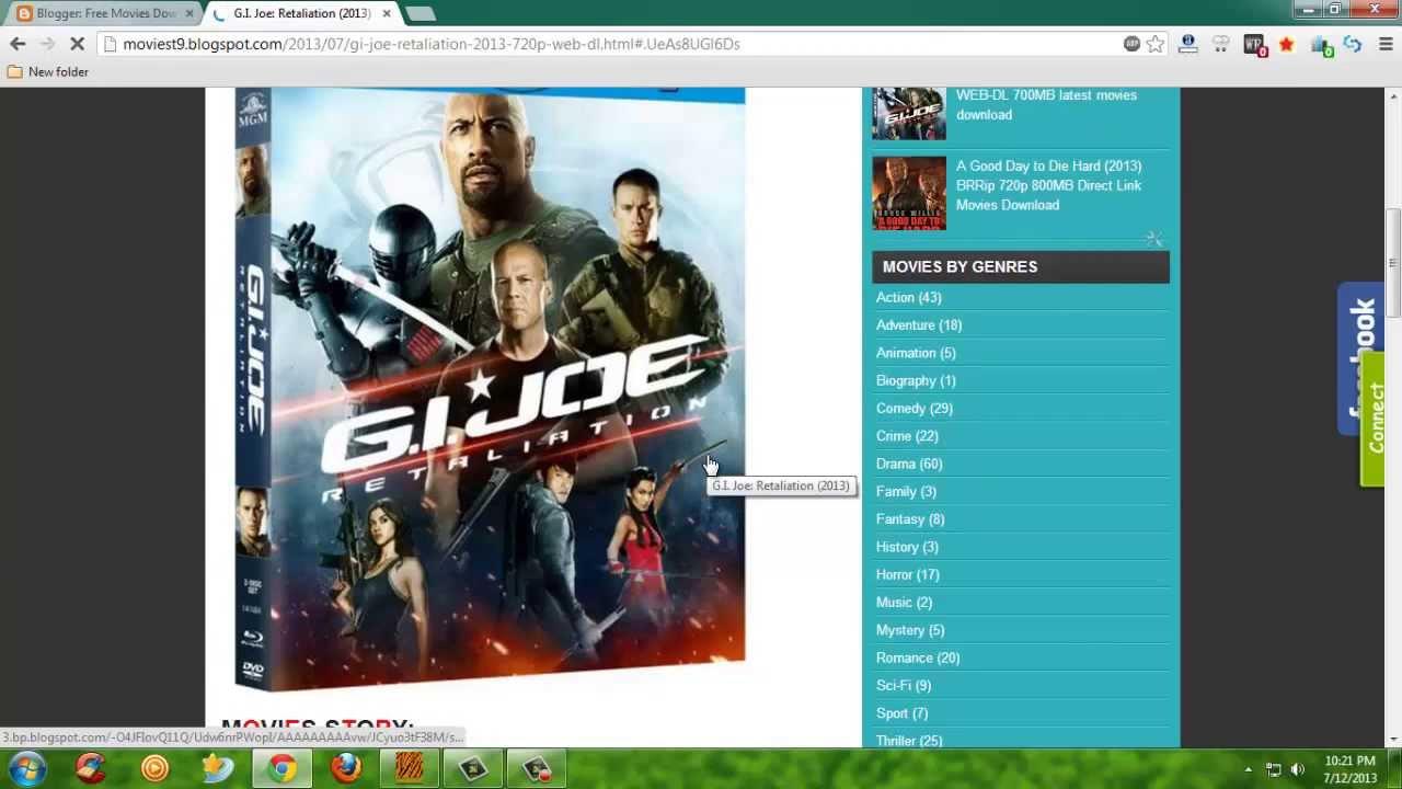 g.i. joe: retaliation (2013) bluray 720p latest movies download