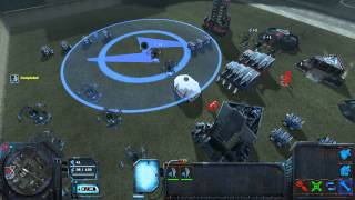 Lambda Wars Beta Multiplayer Gameplay (Half-Life 2 Strategy Game) 2v2 vs AI