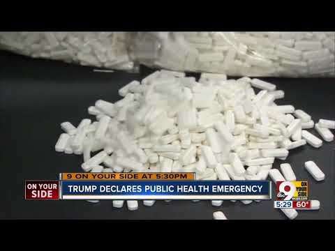 Addiction expert reacts after President Trump declares opioid crisis a public health emergency