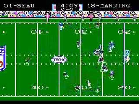 2006 Patriots and Colts play Tecmo Super Bowl