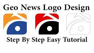 Geo News Logo Design Tutorial In CorelDraw X6