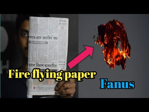 how to make a fire flying paper\how to make sky lantern