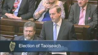 2011-03-09 - An Taoiseach Enda Kenny TD/Election of Taoiseach