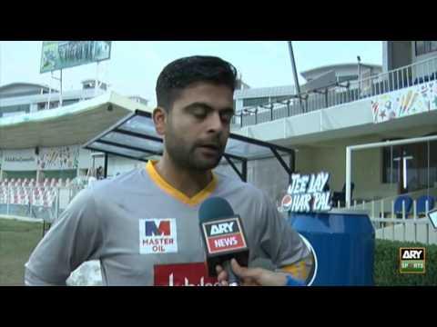 Ahmed Shehzad talks about Dubai's pitches, Sarfraz Ahmed's captaincy and his form.