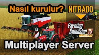 Farming Simulator 15 Multiplayer Server Kurulumu ve Ayarları (Nitrado)