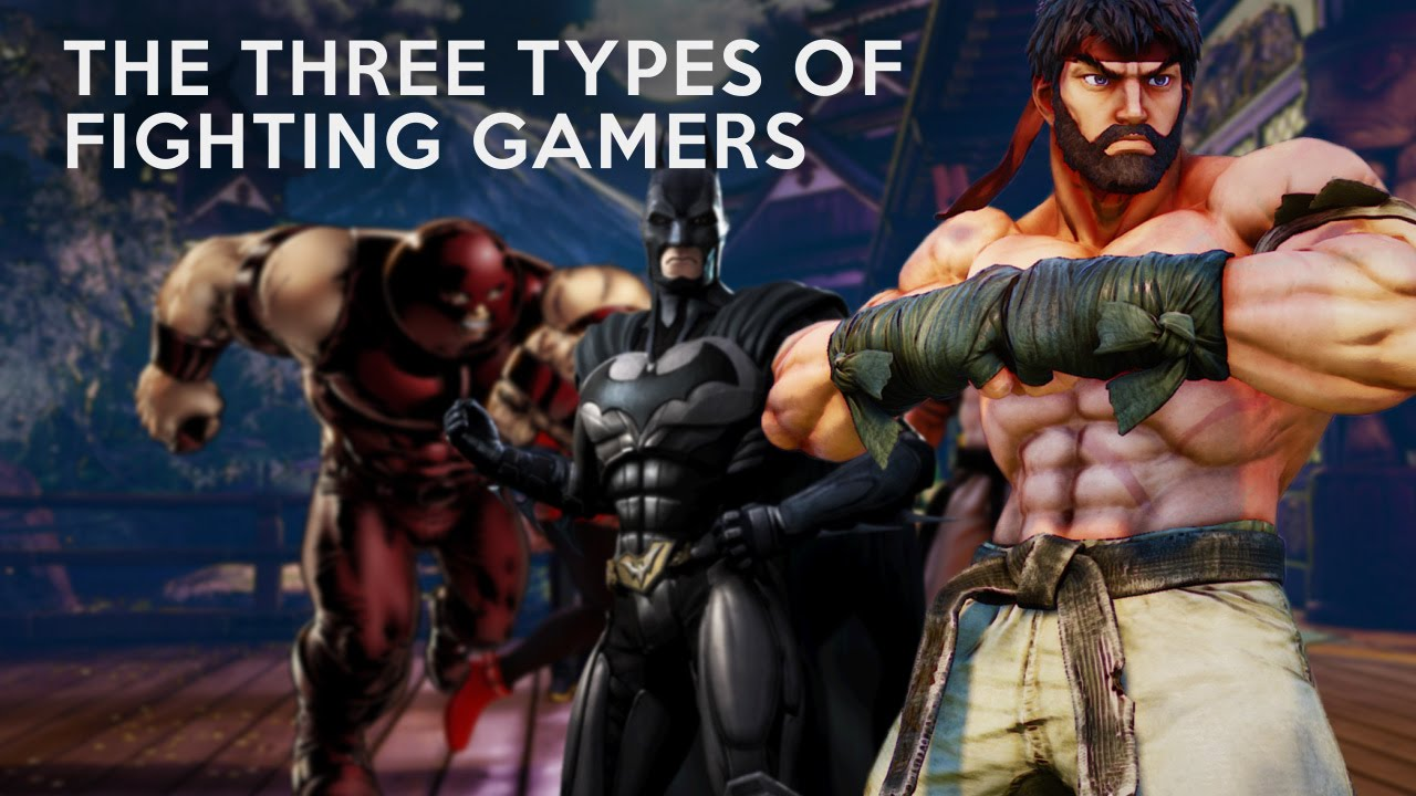 Analysis: The Three Types of Fighting Gamers (Laugh's Theory)