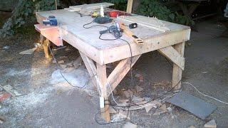 Простой способ выравнивание кромки доски на фрезерном столе