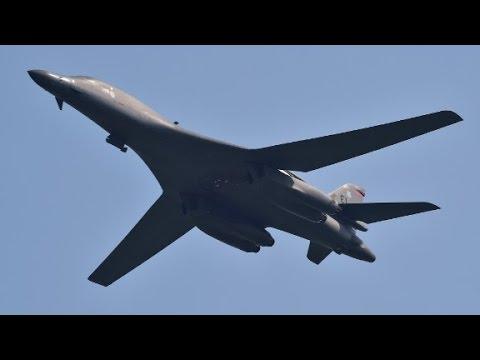 US B-1 bombers fly over South Korea