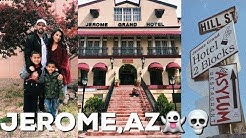 AMERICAS LARGEST GHOST TOWN!!! | Explore Jerome,AZ with me | 2019