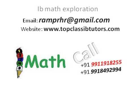 ib math exploration ia extended essay