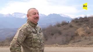 Prezident İlham Əliyev Və Birinci Xanım Mehriban Əliyeva Şuşa şəhərinə Səfər Ediblər