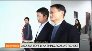 Alibaba's Jack Ma Becomes Asia's Richest Person