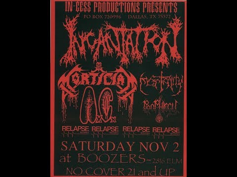 "11-2-96 PROPHECY - ""Purged Of My Worldly Being"" - Boozers - Dallas, TX with Wayne Knupp"