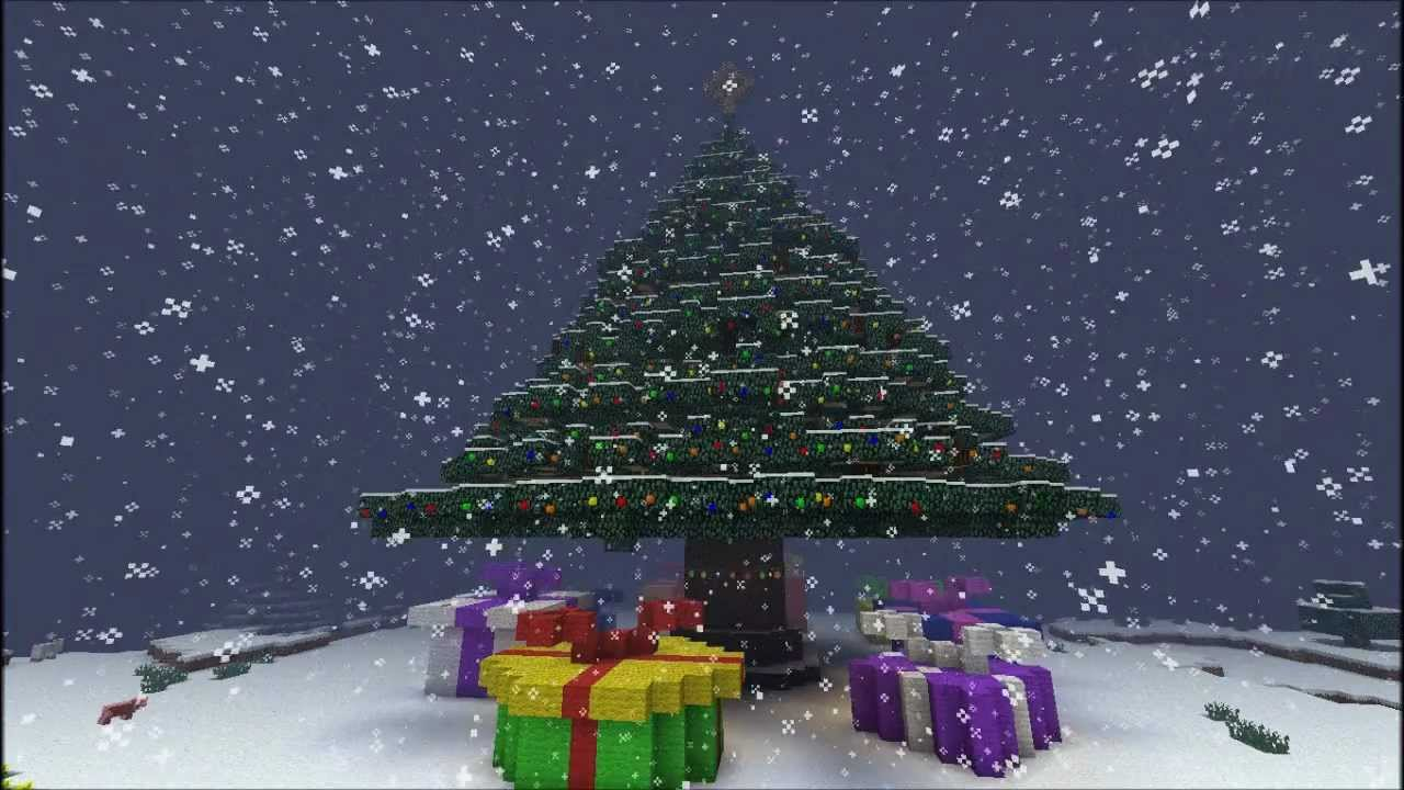 Minecraft Huge Christmas Tree