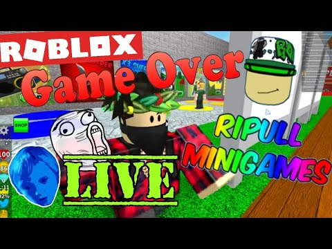 POKEMON GO IN ROBLOX/RIPULL MINI GAMES/ Being Logan Live Str