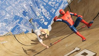 Скачать GTA 5 Epic Ragdolls Spider Man Ep 57 Euphoria Physics
