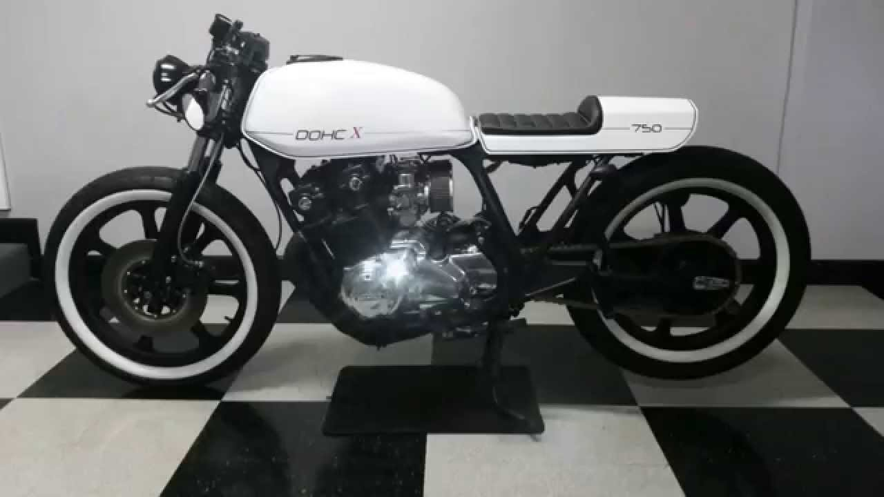 1979 Honda CB750 DOHC X Custom Cafe Racer Build walk ...