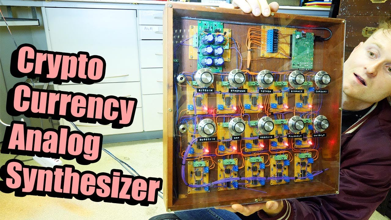 Download CRYPTOCURRENCY SYNTHESIZER.... Making Analog Synth's That Plays CRYPTO's