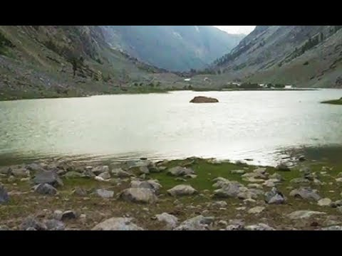 Beautiful view of Jazeera lake in Swat valley