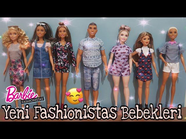Barbie Fashionistas 2018 Full Seri ! - Barbie Fashionistas - Senan?n Bebekleri