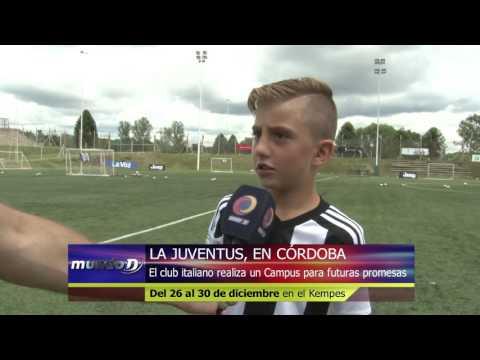 Juventus Camp Argentina visita Córdoba