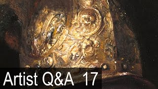 Dark Studios, Drawing with Projectors & more – Ep.17 Oil Painting Q&A with Mark Carder