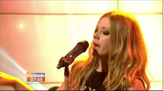 Video Avril Lavigne - Here's to Never Growing Up @ Live at Daybreak (UK) 12/07/2013 download MP3, 3GP, MP4, WEBM, AVI, FLV Agustus 2018